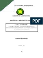 Instrumento de Evaluación de la Productividad en la Retroalimentación del sistema de Proyección Social y Extensión Universitaria