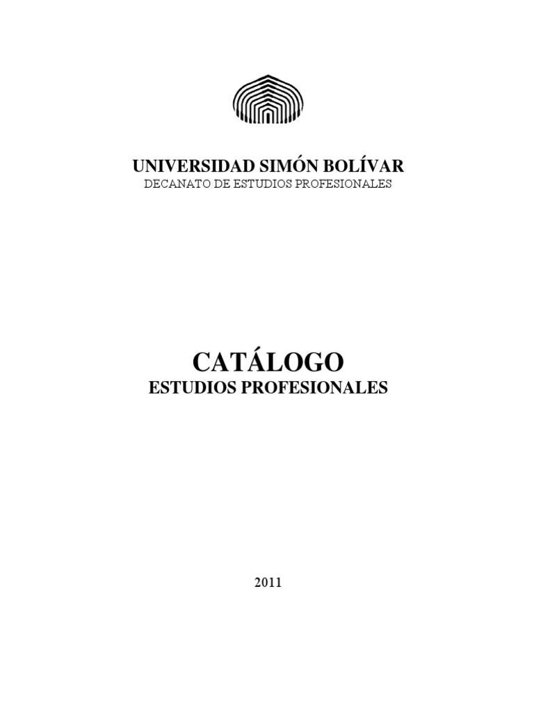 Catalogo DEP 2011 1