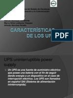 Características de Los UPS