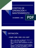 Costos de Operación y Mantenimiento-V2-Lds