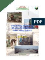 Fuente Agua Subterranea Chilca