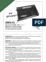Manual SD800.4 Evolution