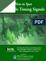 Hot to Spot Profitable Timing Signals