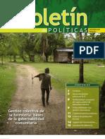 Gestion Comunitaria de Foresteria - bases de la territorialidad en la RAAN