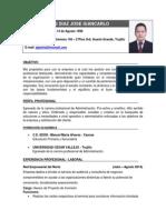 CV - Giancarlo Hoyos Díaz
