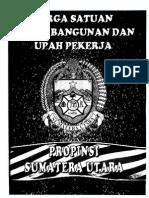 Jurnal Konstruksi 2014 Harga Satuan Sumut