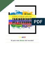 Ecuador Megadiverso Aracelita
