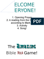The Amazing Bible Trivia Game