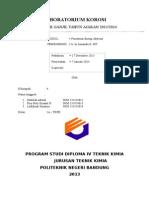 LAPORAN Penentuan Energi Aktivasi (REAL)