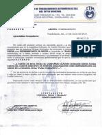 Nombramiento Afonso Quirarte