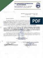 Nombramiento a Flarencaio Vazquez