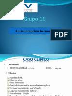 Anticoncepción Hormonal - Grupo 12