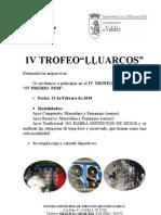 IV TROFEO LLUARCOS