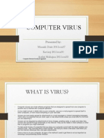 Viruses Worms and Other Malaware