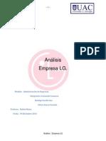Informe Administracion empresas