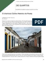 O Charmoso Centro Histórico de Paraty _ de Garfos e de Quartos