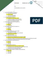 Examen i Curso de Fisiopatología