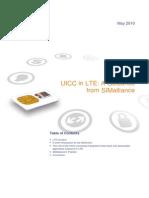 UICC in LTE
