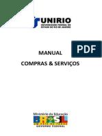 Manual de Compras - Unirio