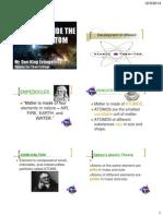 3. Atomic Theories