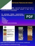 Aula 4 - Característica morfológica dos solos