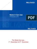 Reliance news u can use Dec 5,2014