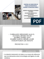 Direccion de Faros Mediante Reconocimiento de Rostro