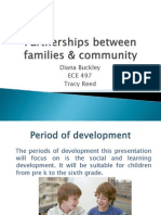 partnerships between families  community