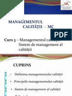 MC Curs 3 Calitate