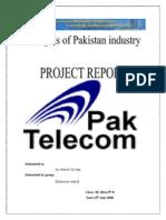 Telecommunication Industry of Pakistan