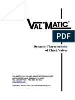 Dynamic Characteristics of Check Valves 6-30-03