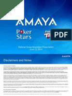 Amaya Oldford Investor Presentation FINAL
