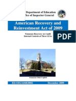 ED-OIG Tennessee Recovery Act Audit Internal Controls at Three LEAs - a04k0002