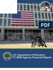 U.S. Department of Education - FY 2009 Agency Financial Report