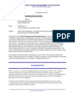 ed oig management and information report for the tranistion to the direct loan program