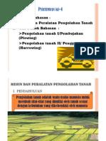 Alat Dan Mesin Pengolahan Tanah