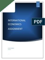 International Economics Rohit Kumar Charlie