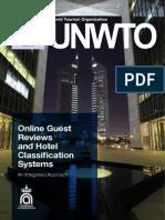 Raport UNWTO