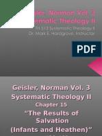 Geisler Vol 3 Chaps 15