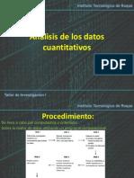 Análisis de Los Datos Cuantitativos