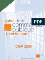 Guide Commande Publique d'Architecture_mise à Jour Juin 2011