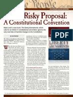 Levin's Risky Proposal