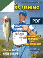 Texas Bass Fishing Mag Winter 2009