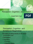 Chapter 5 Perception, Cognition, And Emotion