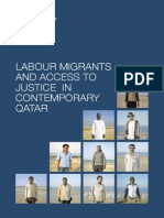 Labour Migrants and Access to Justice in Contemporary Qatar