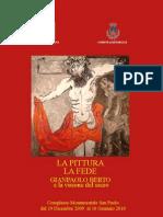 La pittura e la fede opere di Gianpaolo Berto