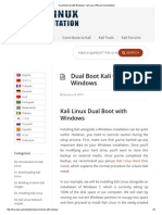 Dual Boot Kali With Windows _ Kali Linux Official Documentation