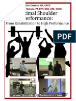 Optimal Shoulder Performance - Cressey Reinold