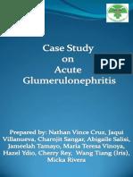 Acute Glumerulo Nephritis