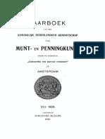 Over eenige te Domburg gevonden merkwaardige munten / [M.G.A. de Man]